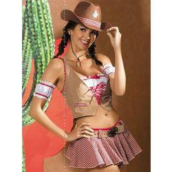 Cowgirl kostium 7-częściowy