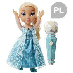 Jakks Pacific Disney Frozen Śpiewająca Elsa z mikrofonem