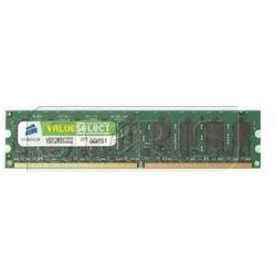 Pamięć RAM Corsair 2GB 667MHz DDR2 CL5 DIMM 1.8V - VS2GB667D2