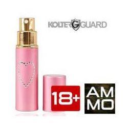 Gaz pieprzowy chmura KOLTER GUARD imitacja szminki 10 ml różowy