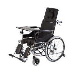 Wózek inwalidzki specjalny stabilizujący plecy i głowę z funkcją toalety VITEA CARE VCWK7T