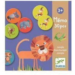 Gra memo - Zwierzęta z dżungli