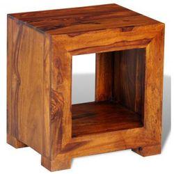 Stolik boczny z litego drewna 137 x 29 x 40 cm Zapisz się do naszego Newslettera i odbierz voucher 20 PLN na zakupy w VidaXL!