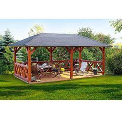 Altana ogrodowa Orlean 2000 x 4000 z montażem