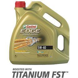 CASTROL EDGE 5W-40 TD TITANIUM FST 5L C3 OLEJ SYNTETYCZNY 505.01 DEXOS2 RN0700/0710 WSS-M2C917-A;