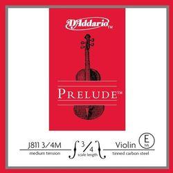 D'addario Prelude J811-34M struna pojedyncza E do skrzypiec 3/4
