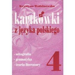Kartkówki z języka polskiego kl 4 (opr. miękka)