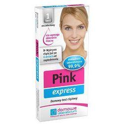PINK express test ciążowy strumieniowy 1szt
