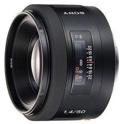 Sony 50 mm f/1.4 (SAL50F14.AE) - WYPRZEDAŻ