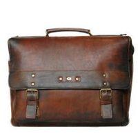 ALIVE 9 torba skóra naturalna firmy Daag na ramię z miejscem na notebook unisex