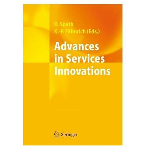 Advances in Services Innovations Fähnrich, Klaus-Peter