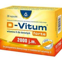 D-VITUM FORTE 2000 j.m witamina D dla dorosłych x 36 kapsułek