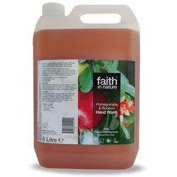 Płyn do mycia rąk z wyciągiem z granatu, 5 litrów - Faith In Nature
