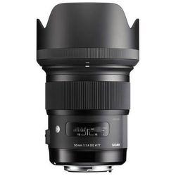 Obiektyw SIGMA A 50/1.4 A DG HSM Canon