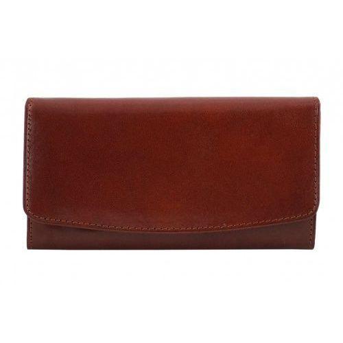 ca96c2f98a3f6 Skórzane portfele damskie - Barberini s - Brązowy - porównaj zanim ...