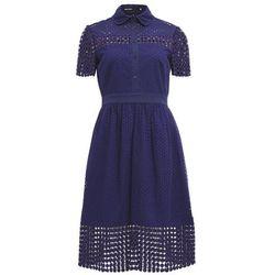 Karen Millen Sukienka koszulowa blue
