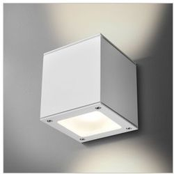 MAXI CUBE BV LED WW HERMETIC 25661BV-01 ALU MAT KINKIET IP65 AQUAFORM