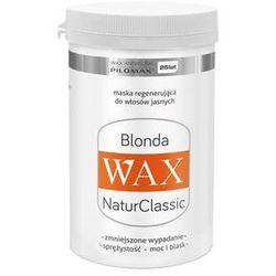 PILOMAX WAX Blonda NaturClassic Regenerująca maska do włosów jasnych 480 ml