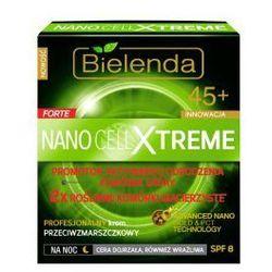 Bielenda Nano Forte Cell Xtreme 45+ (W) krem przeciwzmarszczkowy na noc SPF8 50ml