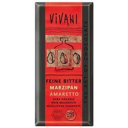 Vivani: czekolada gorzka z marcepanem i amaretto BIO - 100 g