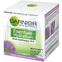 Garnier Essentials Hydration krem do twarzy nawilżający z ekstraktem z łopianu 50 ml