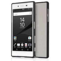 Obudowa Zolti Bumper Case Sony Xperia Z5 Czarna - Czarny