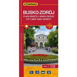 Busko-Zdrój plan miasta i mapa okolic