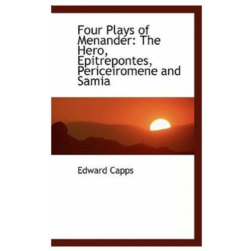 Four Plays of Menander