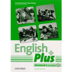 English Plus 3 workbook z płytą CD (opr. miękka)