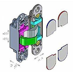 Zawias niewidoczny KOMBI 3 firmy Koblenz 110*24 mm zamiennik ISTAR 505