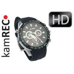 Sportowy zegarek z kamerą 1280x720 HD 8 GB WODOODPORNY