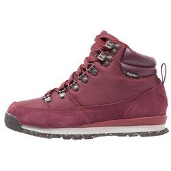 The North Face BACKTOBERKELEY REDUX Buty trekkingowe deep garnet red/biking red