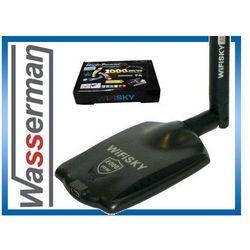 WIFISKY karta wifi USB 2000mW 33dbm + BT3