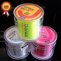 Golden Supplier! 500M Monofilament Nylon Fishing Line Janpan Lure Carp Fishing Wire Cable 8 25LB Strong Soft Round