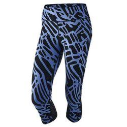Spodnie Nike Power Epic Lux Capri niebieskie 719796-486