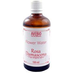 Avebio Flower Water Rosa Damascen - Woda różana 100ml