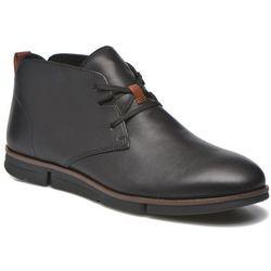 Buty sznurowane Clarks Trigen Mid Męskie Czarne Dostawa 2 do 3 dni