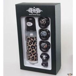 dla dzieci prezent zestaw ROCK STAR BABY - Leopard - 90108