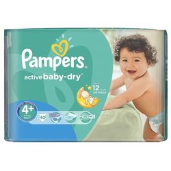 Pampers Active Baby-Dry rozmiar 4+ Maxi Plus 40 szt.