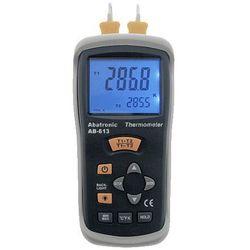 Miernik temperatury dwukanałowy AB-613 ze Świadectwem Wzorcowania