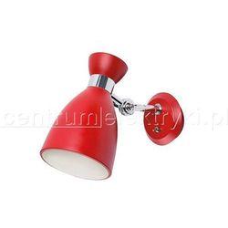 KANLUX FARO RETRO WALL LAMP R OPRAWA ŚCIENNA 20W E14 CZERWONA