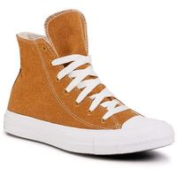 Trampki CONVERSE - Ctas Hi 166740C Wheat/Natural/White