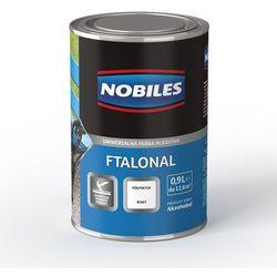 Emalia alkidowa Ftalonal Biały półpołysk 0,25L Nobiles