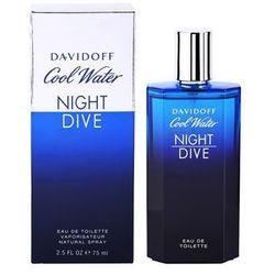 Davidoff Cool Water Night Dive woda toaletowa dla mężczyzn 75 ml + do każdego zamówienia upominek.