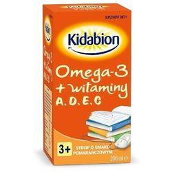 Kidabion Syrop o smaku pomarańczowym 200 ml