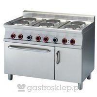 Kuchnia elektryczna z piekarnikiem - CFV6 - 712 ETV
