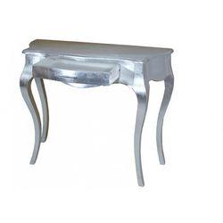 Stolik srebrny w stylu Glamour