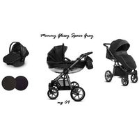 Baby Active wózek Mommy Glossy Grafit 3w1