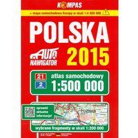 Polska atlas samochodowy 1:500 000 Kompas