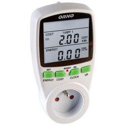 Orno Licznik zużycia energii elektrycznej watomierz miernik mocy dwutaryfowy OR-WAT-408